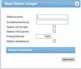 spsXChange Station Grundeinstellungen