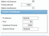 spsXChange Scanner Verwaltung